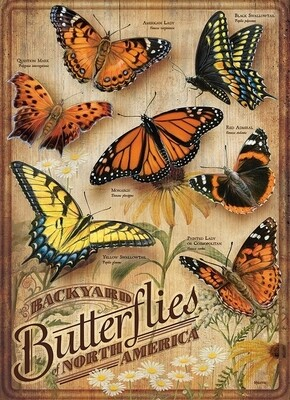 Backyard Butterflies - 500 Piece Cobble Hill Puzzle