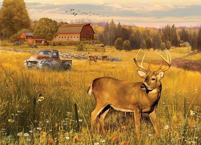 Deer Field - 500 Piece Cobble Hill Puzzle