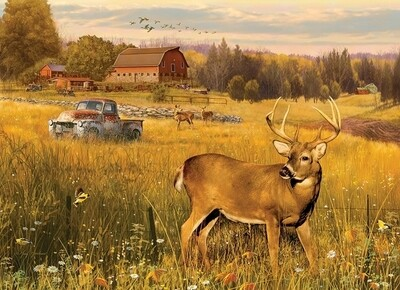 Deer Field - 500 Piece Cobble Hill Puzzle