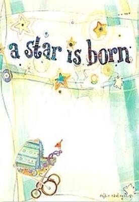 Baby - Baby Buggy Under a Star Streamer