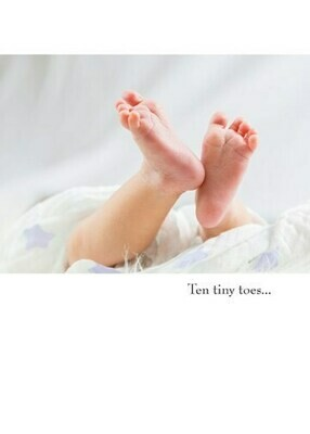Baby -  Ten Tiny Toes... the Places They'll Go