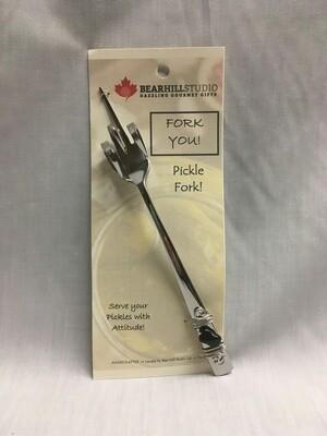 Fork-You Pickle Fork - Black Stone - Canadian Handcrafted