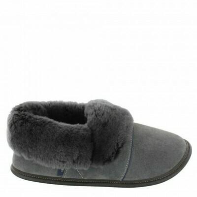 Mens Low-cut - 12/13  Charcoal / Silverfox Fur