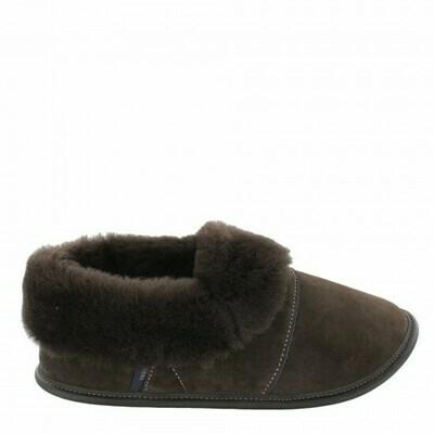 Mens Low-cut - 12/13, Brown / Brown Fur