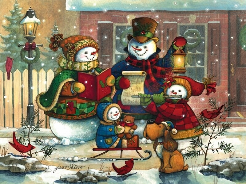 Song for the Season - Family Pieces - 350 Piece Cobble Hill Puzzle