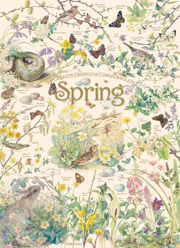 Country Diary: Spring - 1000 Piece Cobble Hill Puzzle