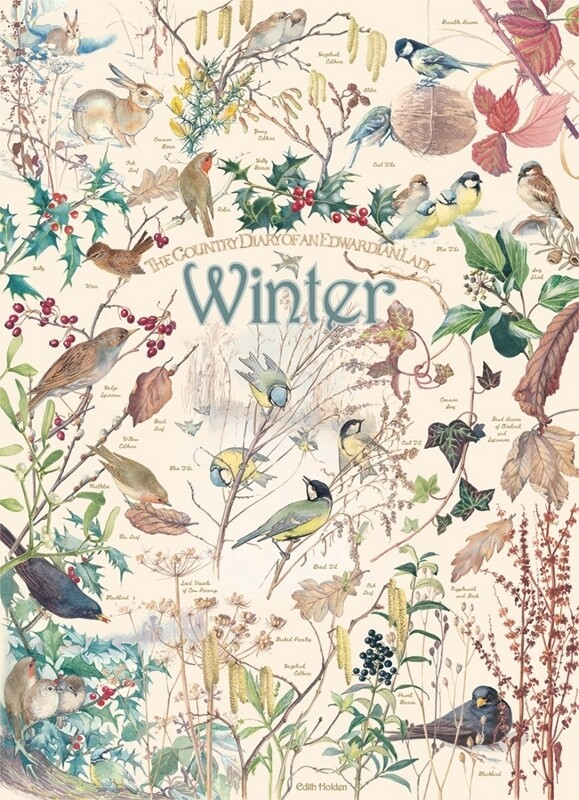 Country Diary: Winter - 1000 Piece Cobble Hill Puzzle