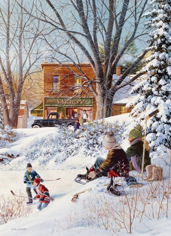 Getting Ready - 1000 Piece Cobble Hill Puzzle