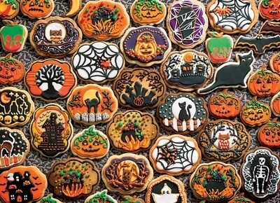 Halloween Cookies - Family Pieces - 350 piece Cobble Hill Puzzle