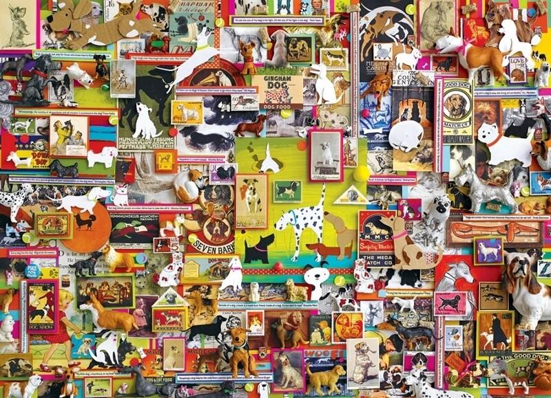 Dogtown - 1000 Piece Cobble Hill Puzzle