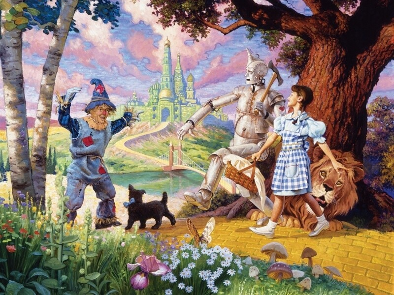 The Wizard of Oz - Family Pieces - 350 Piece Cobble Hill Puzzle