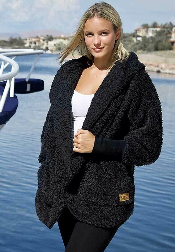 Nordic Beach Body Wrap - Black Licorice - One Size