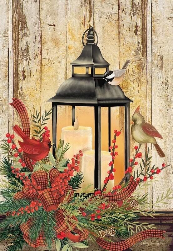 "Holiday Lantern - Garden Flag - 12.5 "" x 18"""