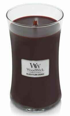 Black Plum Cognac - Large - WoodWick Candle