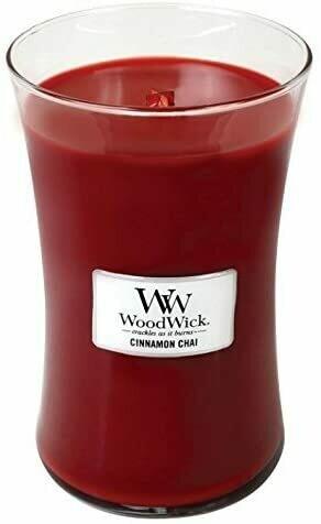Cinnamon Chai - Large - WoodWick Candle