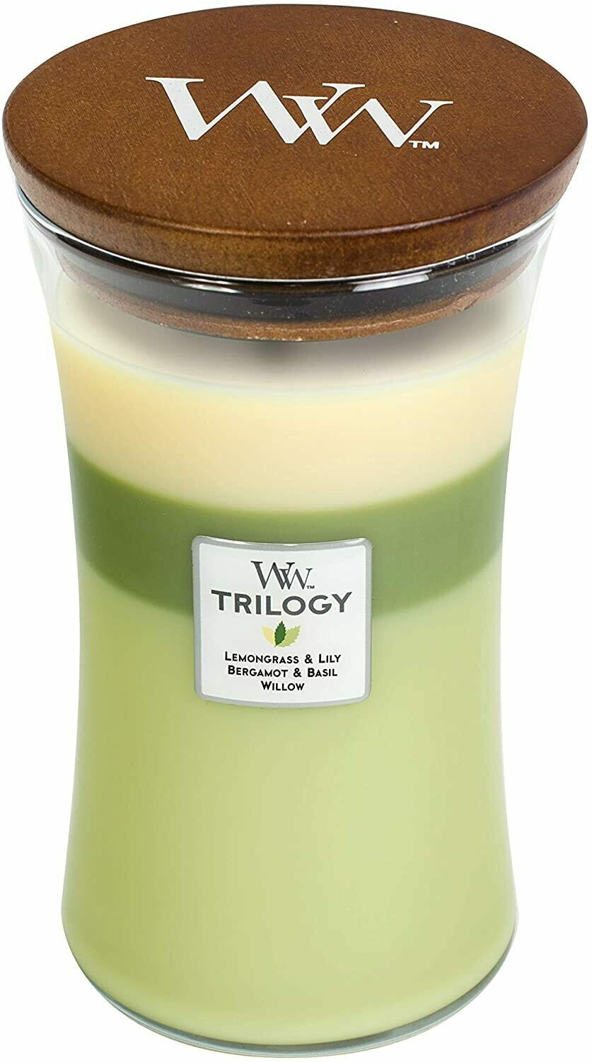Garden Oasis - Large Trilogy - WoodWick Candle