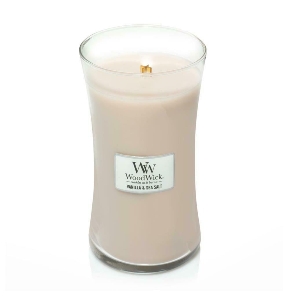 Vanilla & Sea Salt - Large - WoodWick Candle