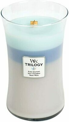 Woven Comforts - Large Trilogy - WoodWick Candle