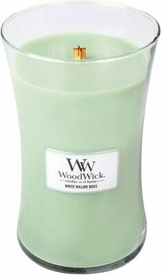 White Willow Moss - Large - WoodWick Candle