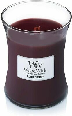 Black Cherry - Medium - WoodWick Candle