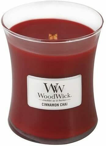 Cinnamon Chai - Medium - WoodWick Candle
