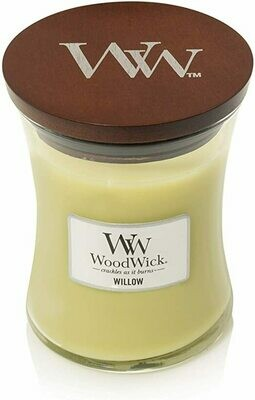Willow - Medium - WoodWick Candle