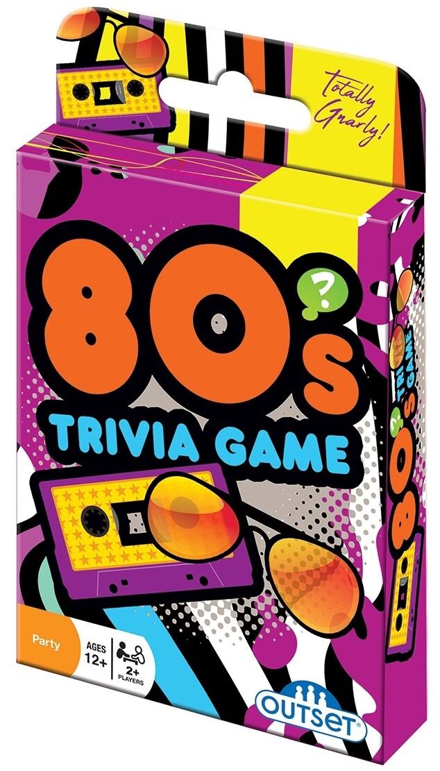 80s Trivia Card Game