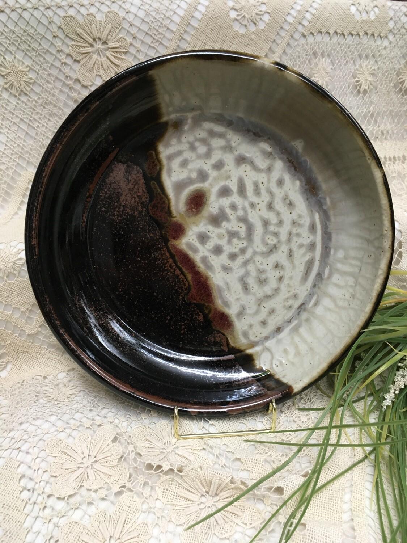 Pasta Bowl / Deep Platter, Cream Ash - Parsons Dietrich Pottery - Canadian Handmade