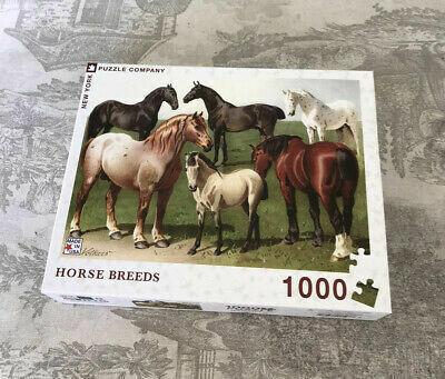Horse Breeds - 1000 Piece - New York Puzzle Company