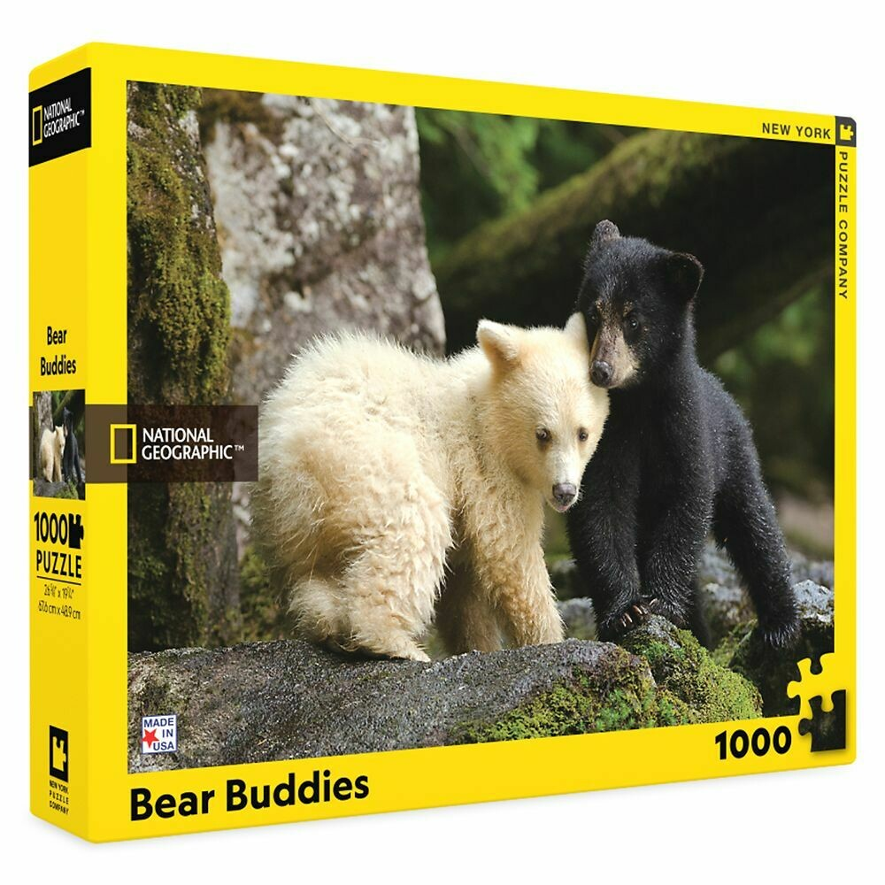 Bear Buddies - 1000 Piece National Geographic - New York Puzzle Company