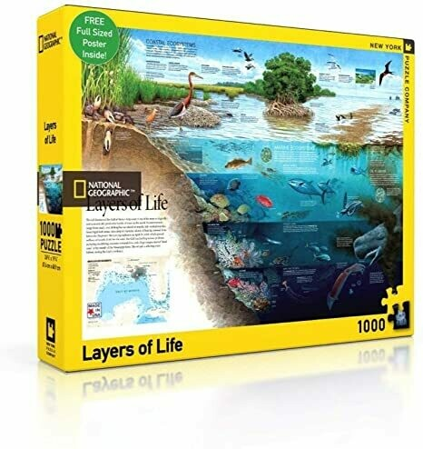 Layers of Life - 1000 Piece National Geographic - New York Puzzle Company
