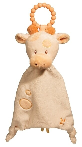 Giraffe - Teether Blanket - Lil' Sshlumpie - 13 inch - Douglas Baby