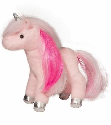 Ava - Mini Pink Unicorn 7 Inch - Douglas Plush
