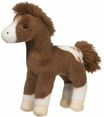 Warrior - Appaloosa Horse - 8 inch -  Douglas Plush