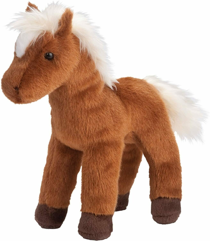 Mr. Brown - Chestnut Horse - 8 inch -  Douglas Plush