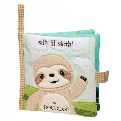Cloth Activity Book - Silly Li'l Sloth