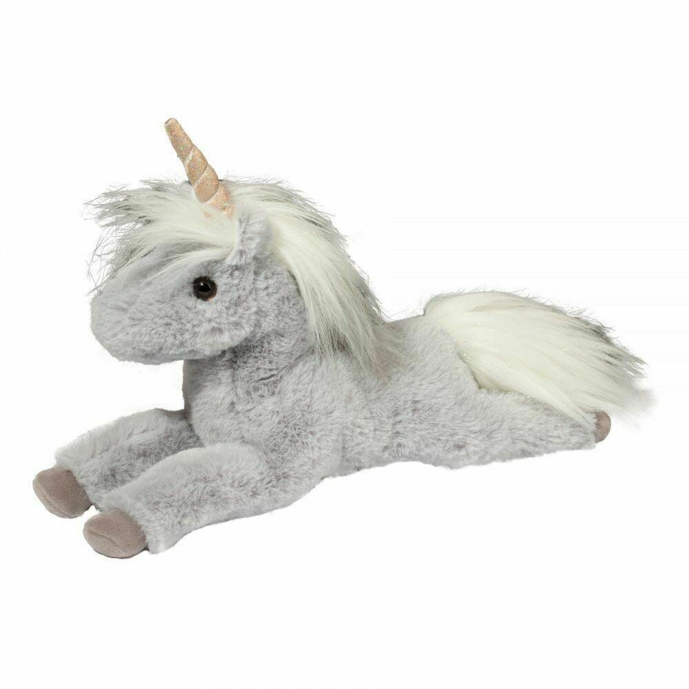 Mia - Grey Unicorn - 9 inch -  Douglas Plush