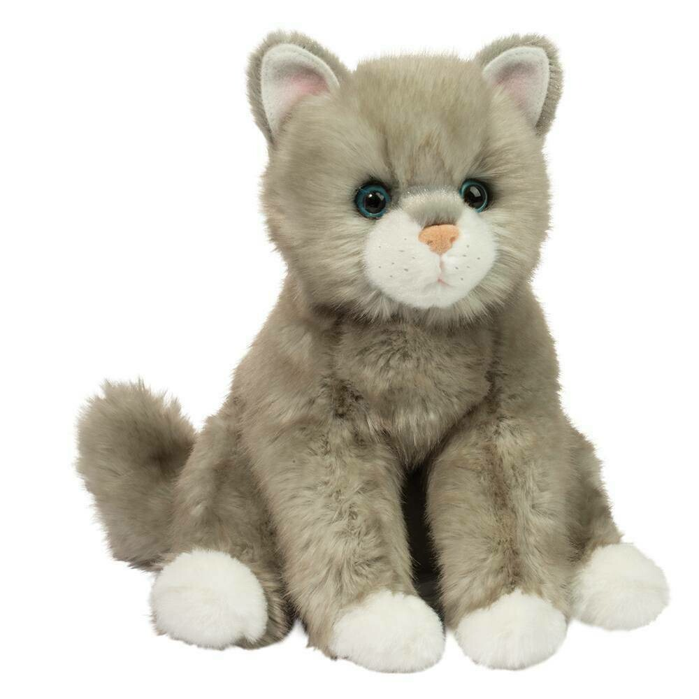 Rita - Grey Cat - 10 inch - Douglas Plush