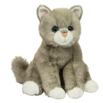 Rita - Grey Cat - 10 inch - Douglas Plush