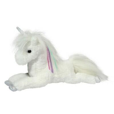 Thea - White Unicorn - 9 inch -  Douglas Plush