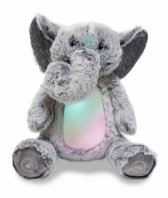 Peaceful Elephant - Lights up and Plays Jungle Music - Soft for Baby