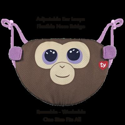 Beanie Boo Children's Mask - Coconut - Ty