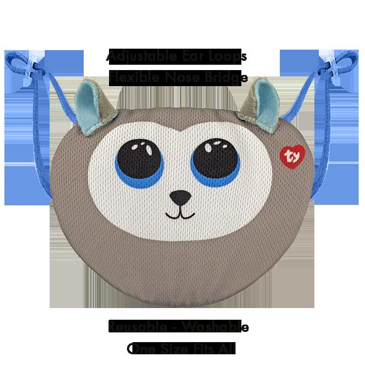Beanie Boo Children's Mask - Slush - Ty