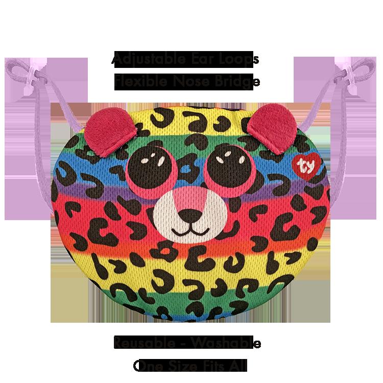 Beanie Boo Children's Mask - Dotty - Ty