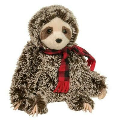 Bramley - Christmas Sloth - 9 inch - Douglas Plush