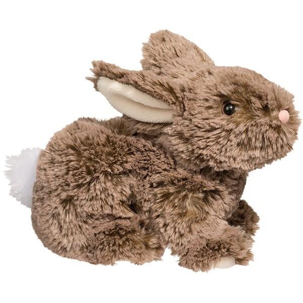 Taylor -  Mocha Bunny - 8x6x4 inches - Douglas Plush