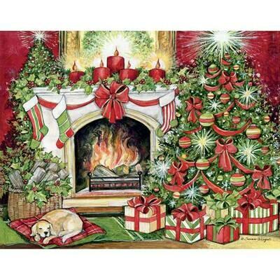 Lang Christmas Cards - Christmas Warmth - 18 per Box