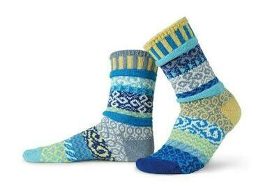 Air - Large - Mismatched Crew Socks - Solmate Socks