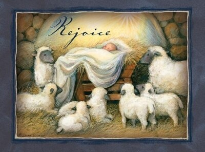 Lang Christmas Cards - Rejoice - 18 per Box