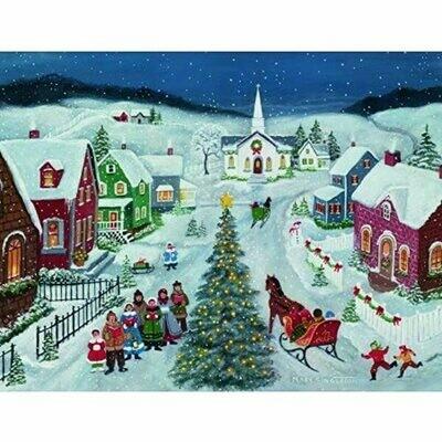 Lang Christmas Cards - Silent Night - 18 per Box